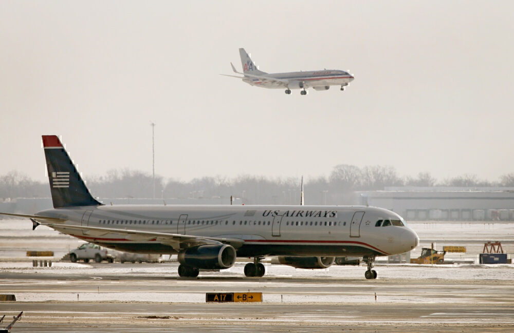 American Airlines and US Airways