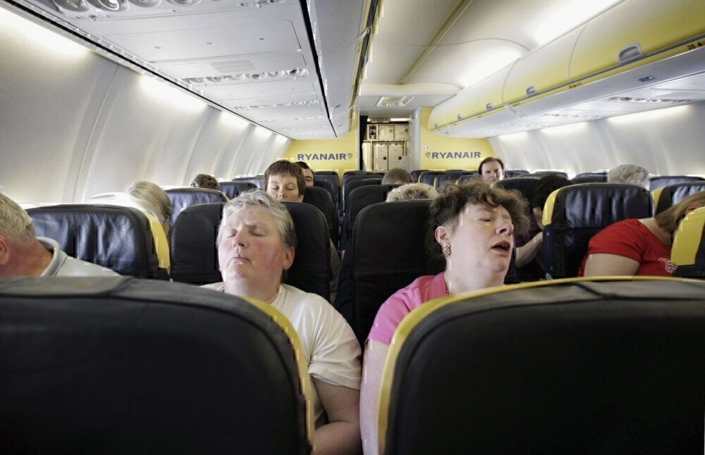 Boeing sleeping seats