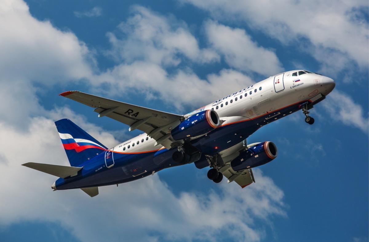 Aeroflot SSJ100 Getty