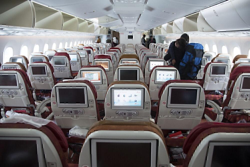Air India 787 Cabin