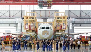 Airbus Factory staff layoffs