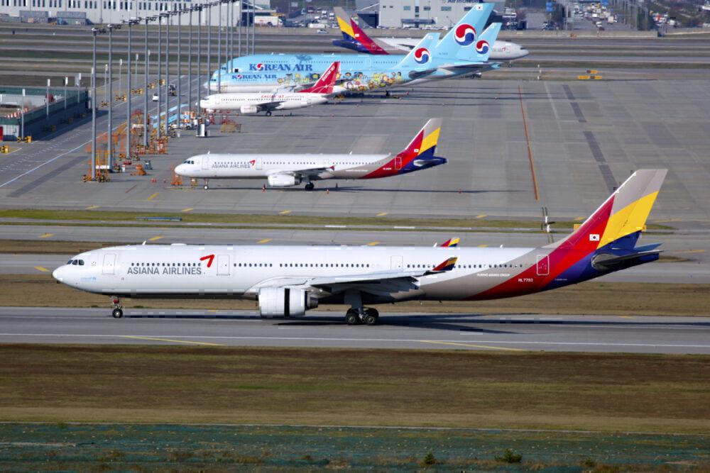 Korean Air and Asiana