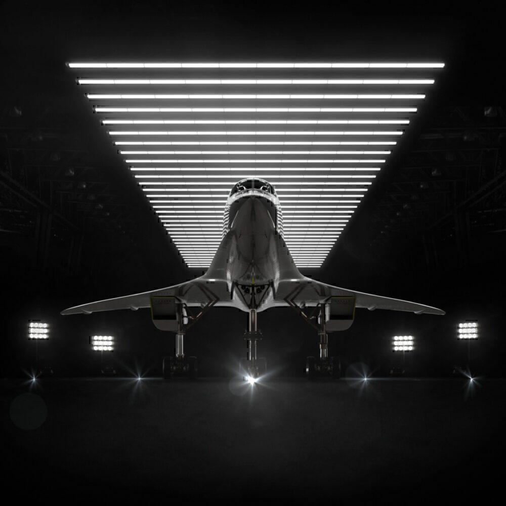 Boom Overture Hangar