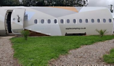 Etihad A319 Converted Camping Hotel