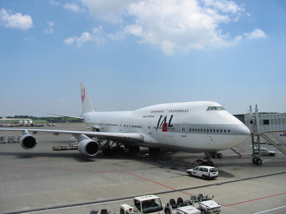 JAL 747