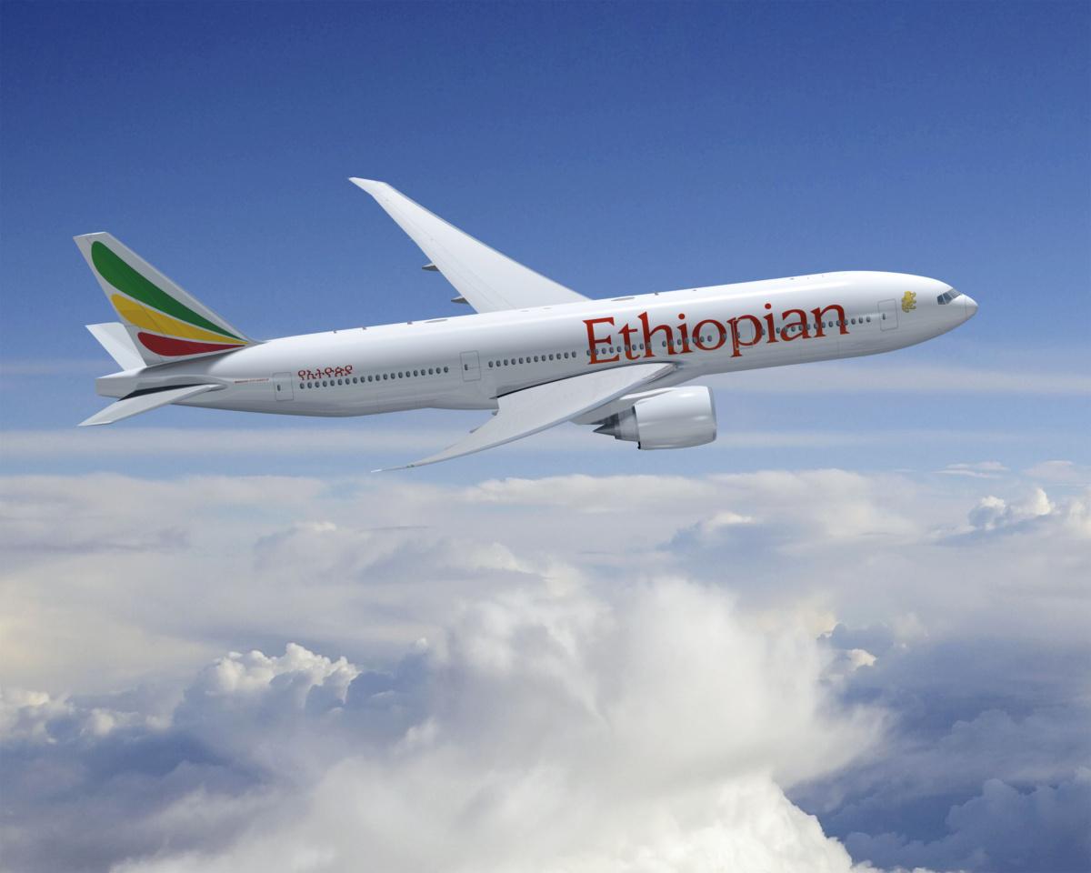 Ethiopian 777-200LR