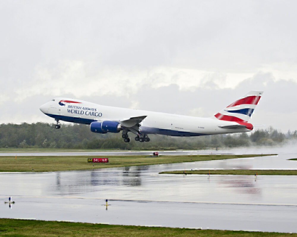 British Airways, Boeing 747-8, Freighter