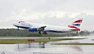 British Airways, Boeing 747-8, Freighter