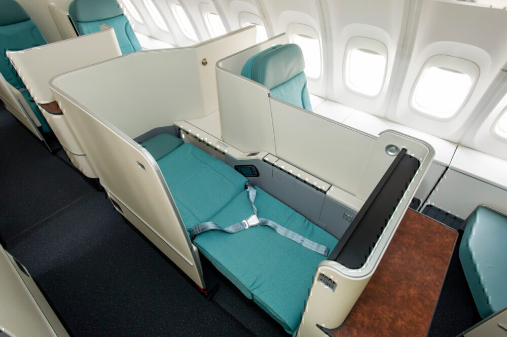 Korean Air business class