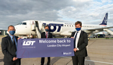 LOT Polish Airlines London City