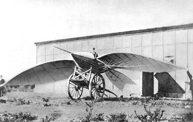 Le Bris built the Albatross glider
