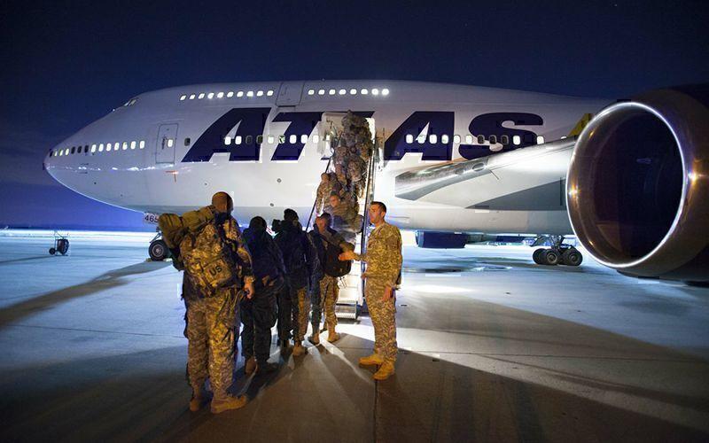 Atlas Air 747 military