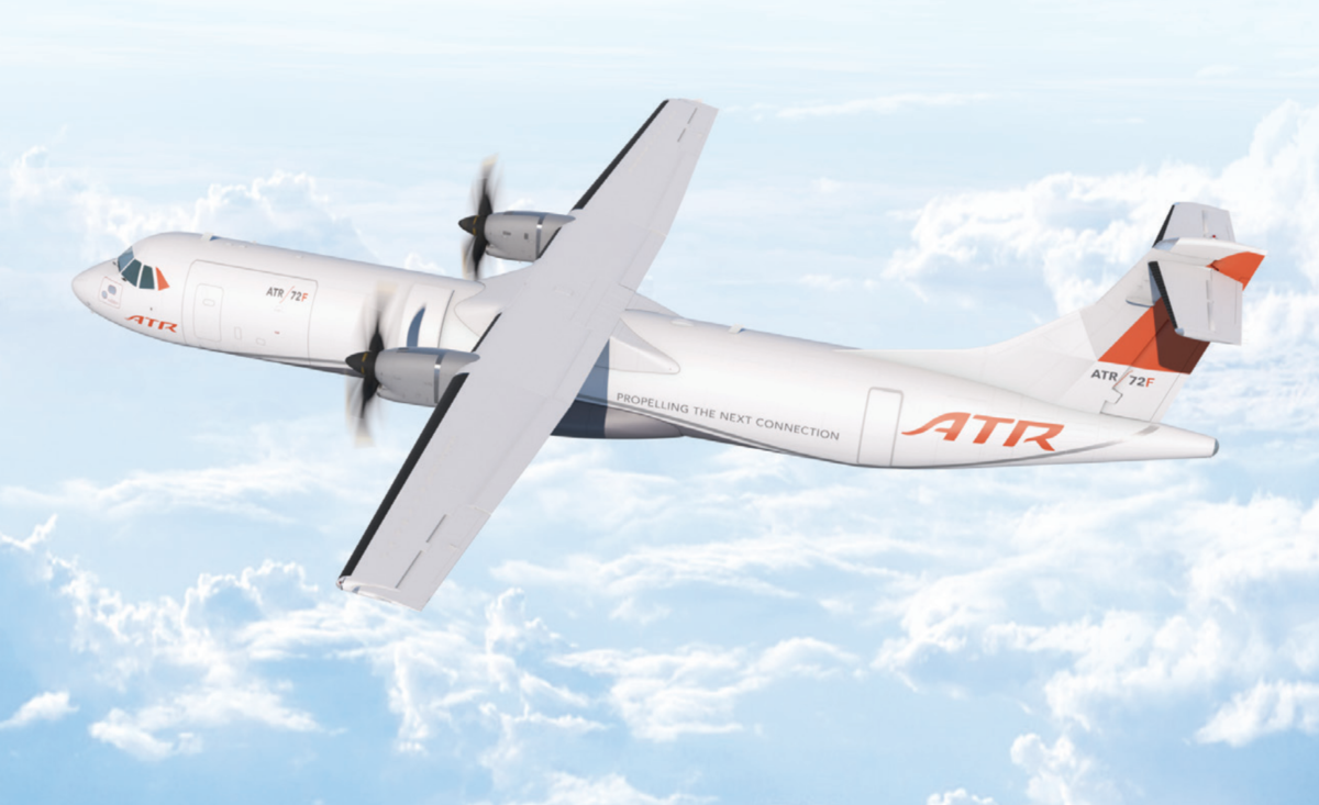ATR's First Regional Freighter Turboprop Made Its Maiden Flight - Simple Flying