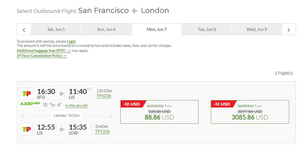 tap-air-portugal-cheap-fares
