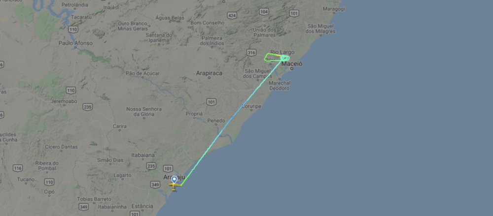 Azul ATR 72 Diverts With An Engine Issue