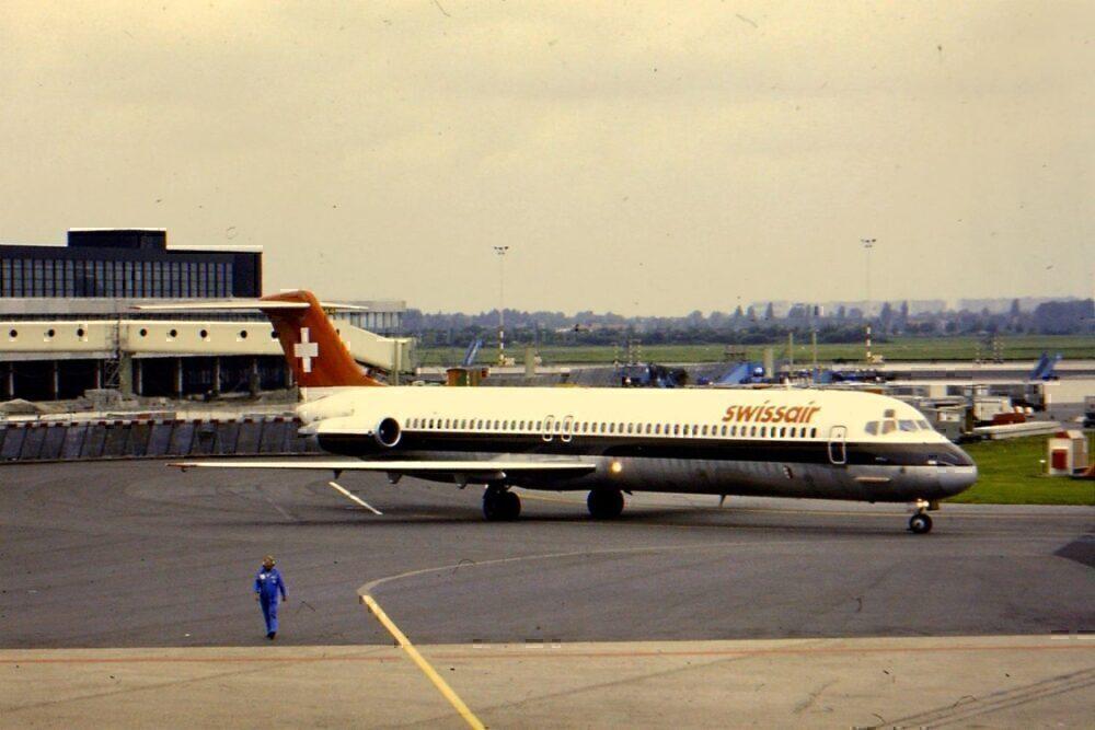 Swissair MD 80