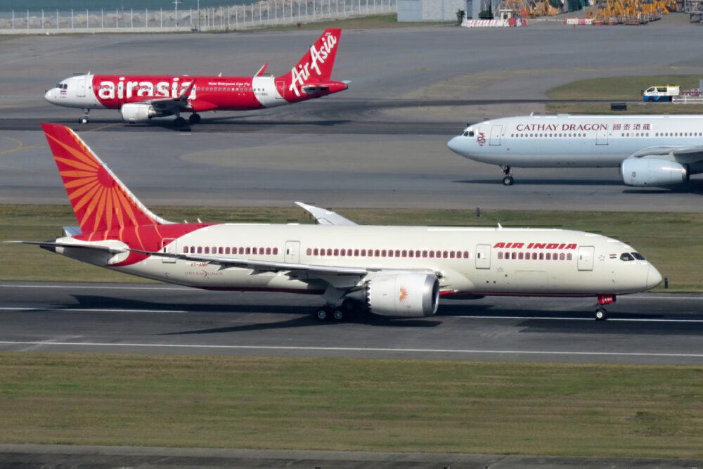 Cathay Dragon Air India