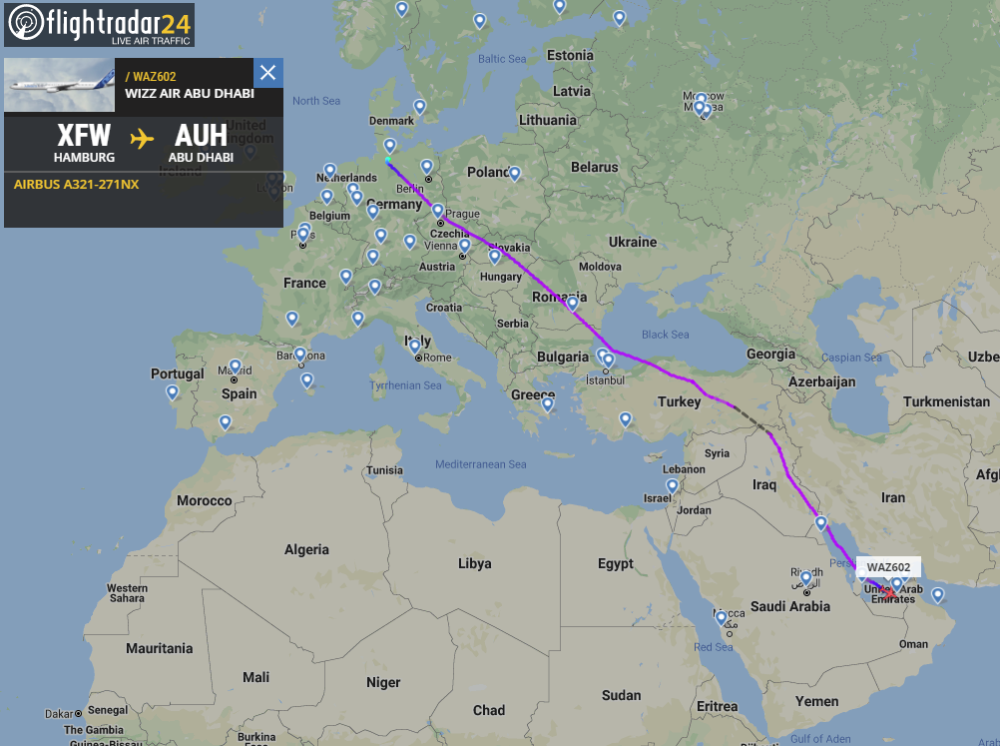 Wizz Air, Abu Dhabi, Launch Delay