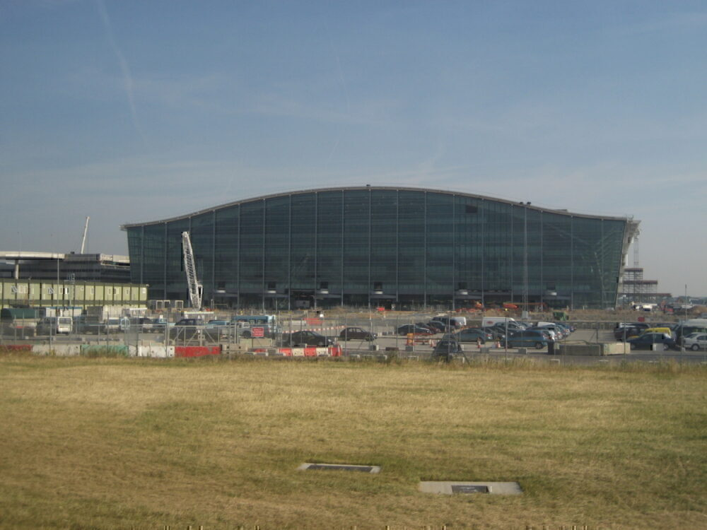 Terminal 5 construction