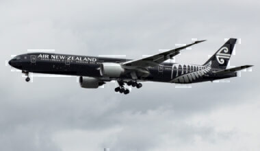 ZK-OKQ Boeing 777 Air New Zealand