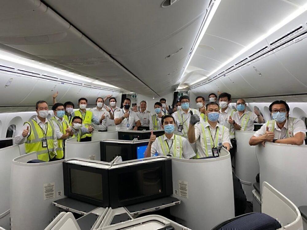 Aeromexico crew