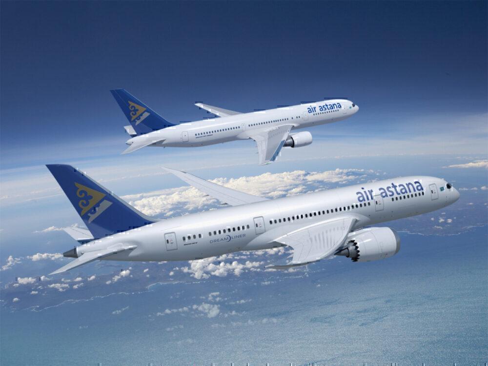 Air Astana, Boeing 787, Airbus A321LR
