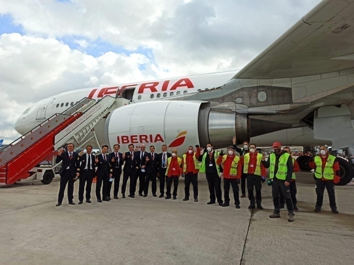 Iberia staff