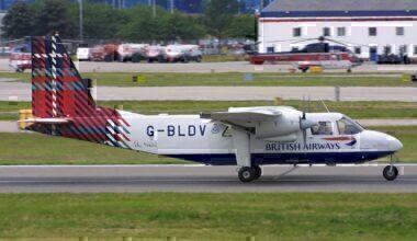 Britten Norman BN-2A-26 Islander Loganair