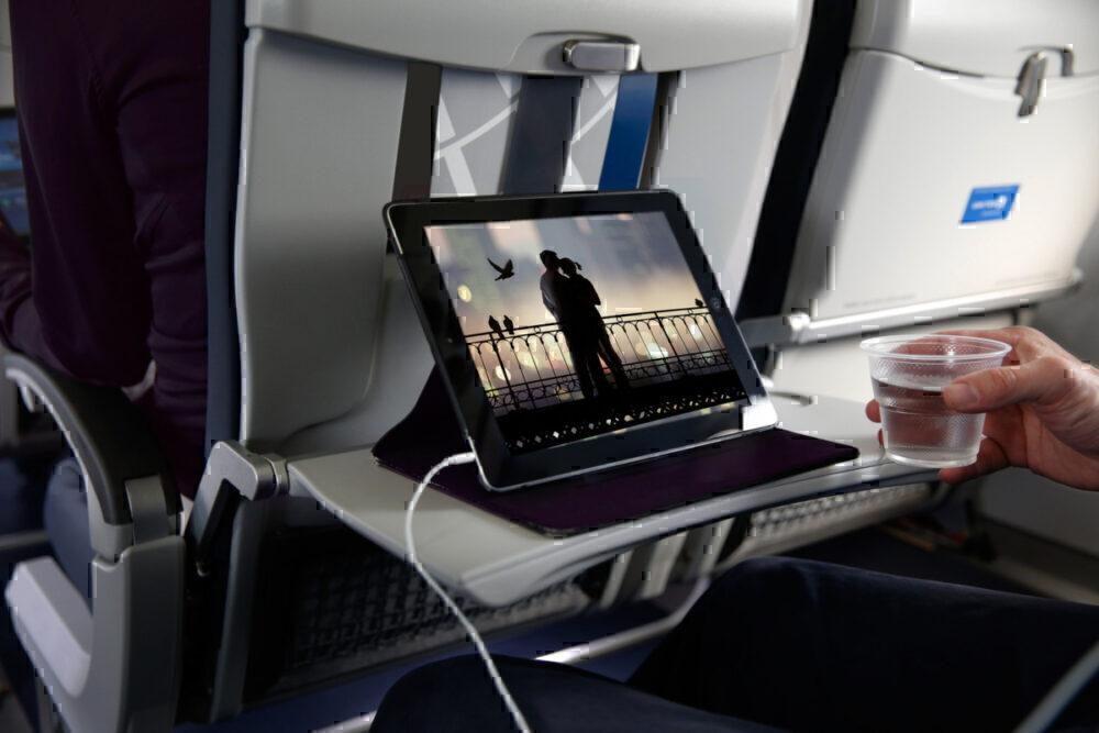 iPad United Airlines