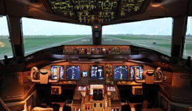 thai airways cockpit
