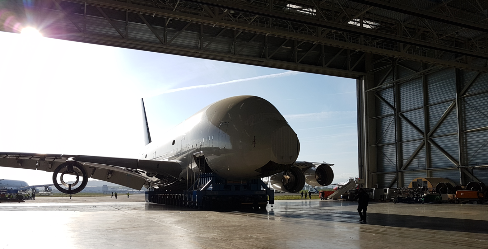 Lufthansa Is Sending Its Remaining Airbus A380s To Storage