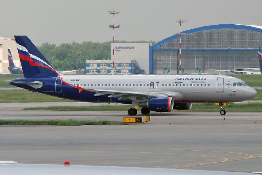 Aeroflot-A320-Pitot-Heating-Diversion