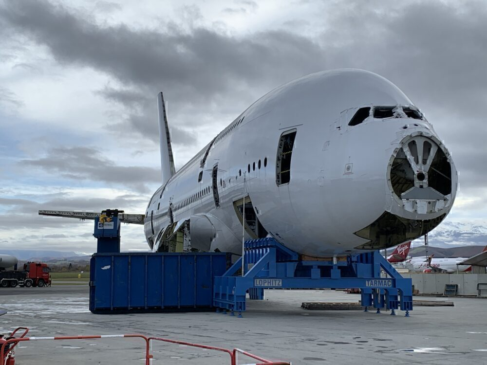 Airbus A380, Retirement, Scrapped