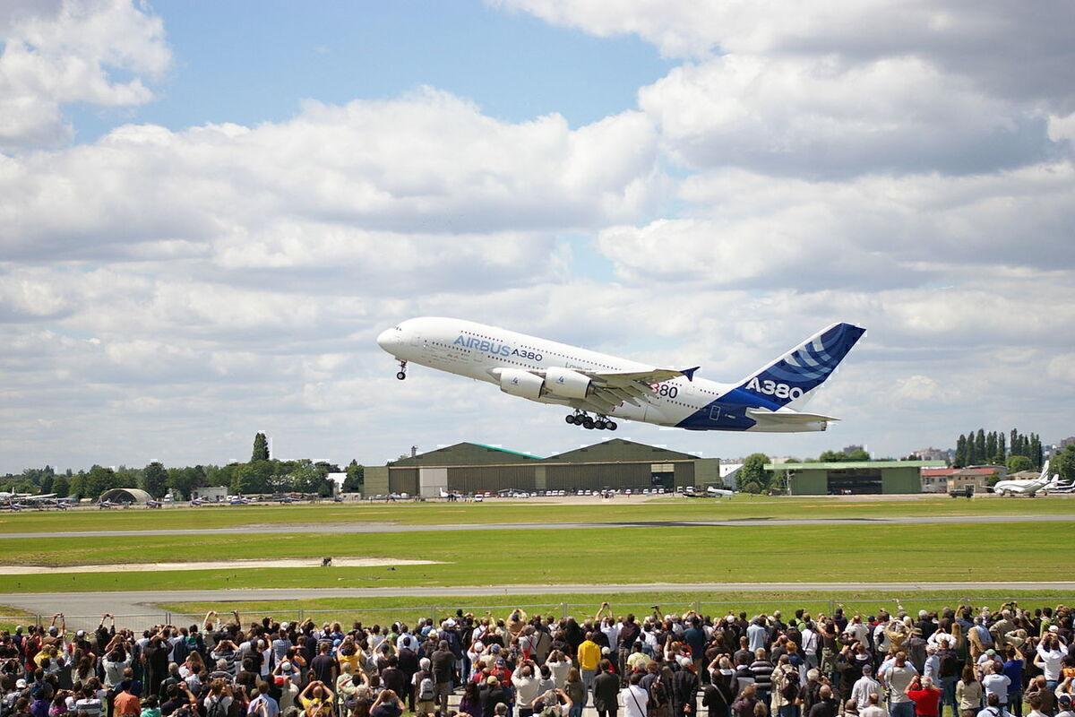 A380 Paris air show