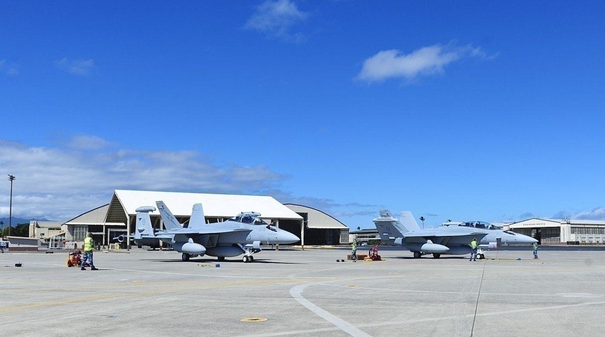 Hickam Air force base Hawaii