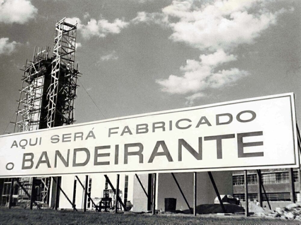Embraer factory construction