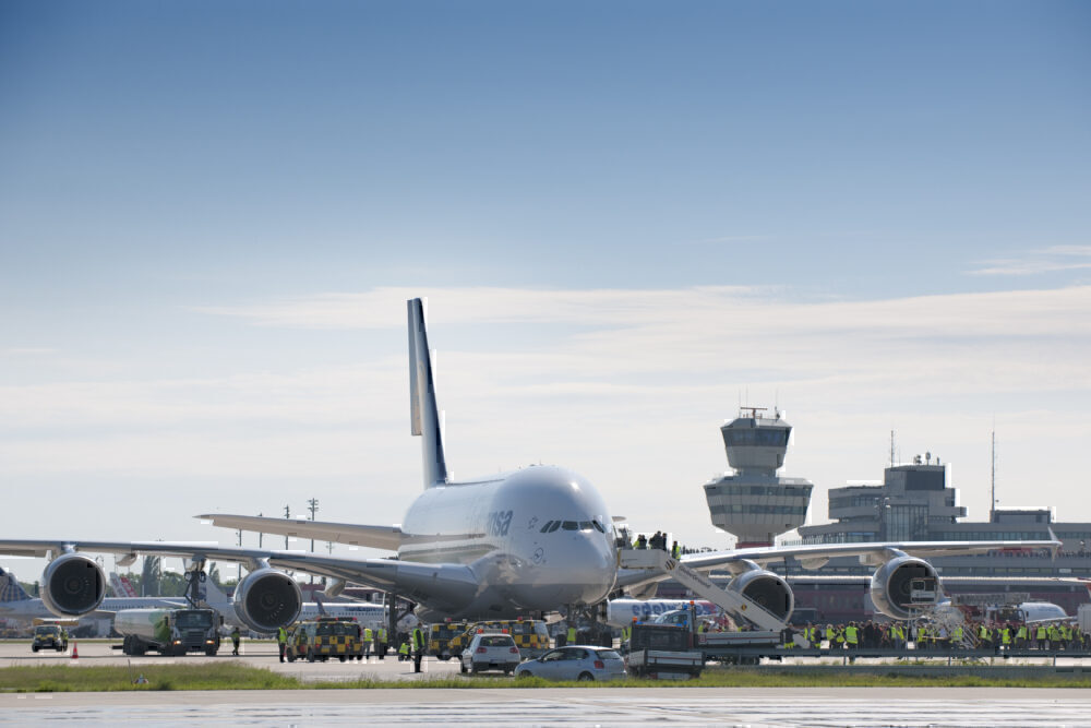 Lufthansa, Berlin Tegel, Airbus A350
