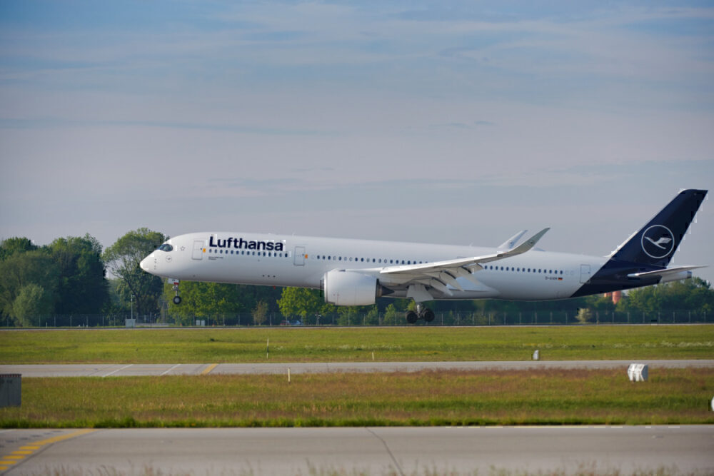 Lufthansa, Airbus A350, Frankfurt