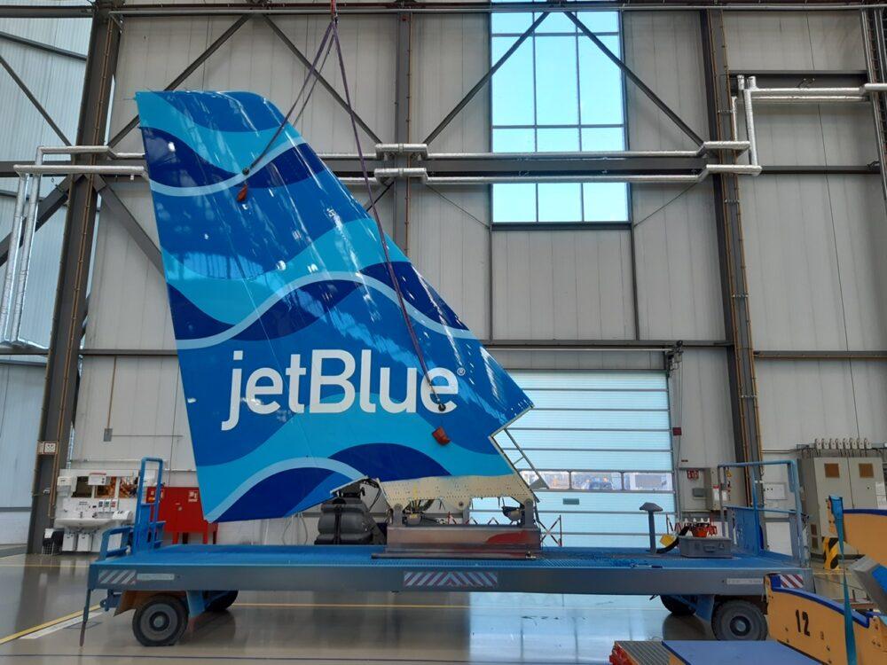JetBlue Tail