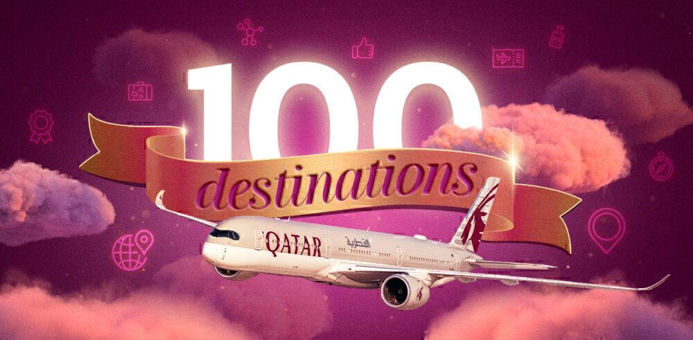 Qatar back to 100 destinations
