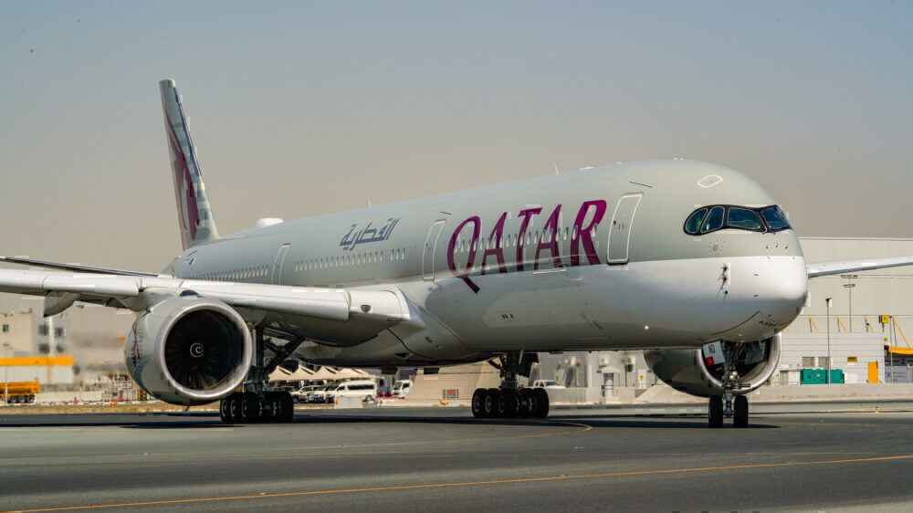 Qatar takes delivery of three A350s