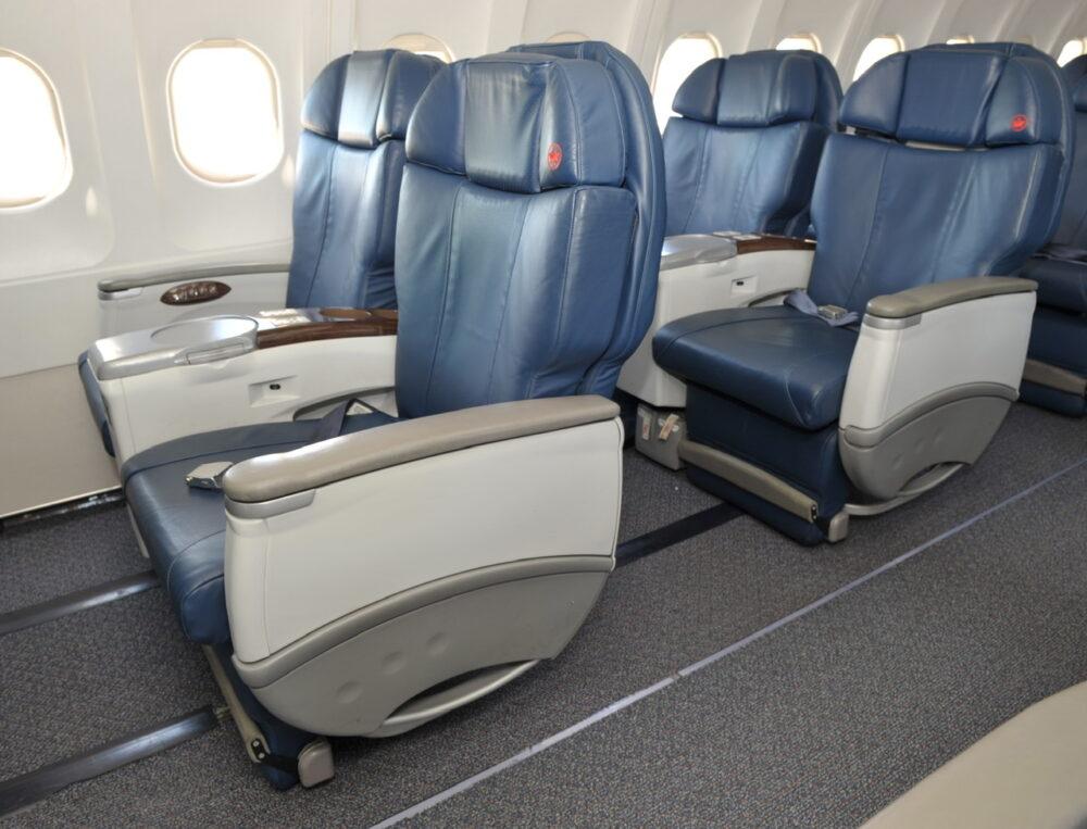 Air Canada Jetz Interior