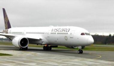 Vistara Dreamliner