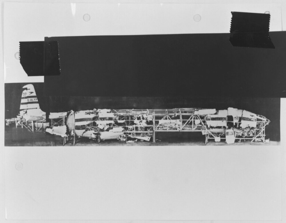 De Havilland Comet Fuselage Parts