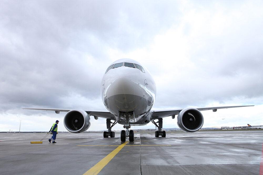 Lufthansa Cargo Boeing 777 Jet