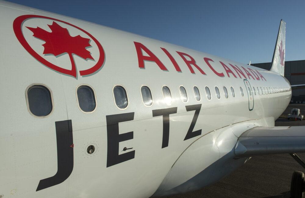Air Canada Jetz Livery