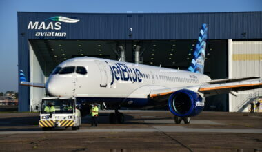 JetBlue, Airbus A220, Rollout