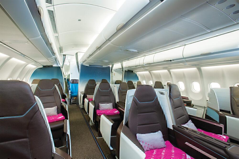 Lie-flat A330