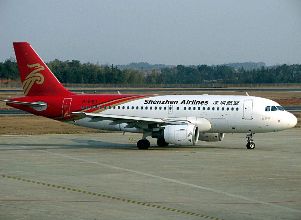 Shenzhen Airlines A319
