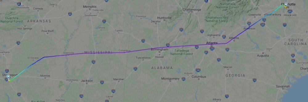 AA4179 02Oct20 FlightRadar24 Screenshot 2
